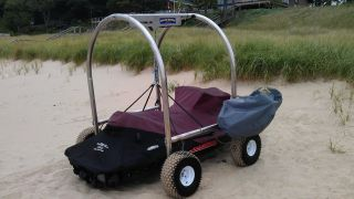 Beach Rover Motorized PWC Lift   Better than a jet ski dolly