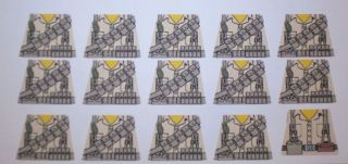 custom lego american thompson soldier wwii decals