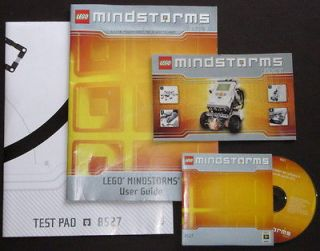 Newly listed LEGO Mindstorms NXT 1.0 constructopedi​a, CD, pad exc+