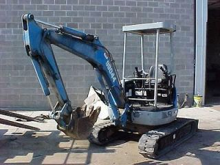 2007 KOMATSU PC78MR 6 MINI EXCAVATOR   LOADER   33 PICS