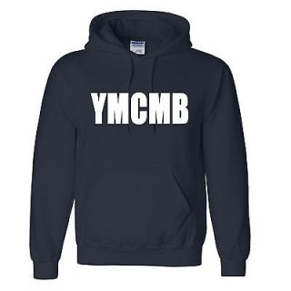 YMCMB Hooded Sweatshirt lil wayne young money Hoodie 15 colors S