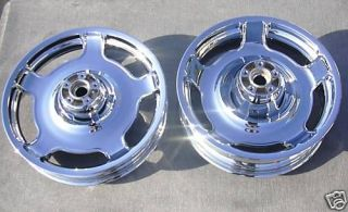 Glide / Road Glide Custom 2010 2013 Chrome wheels Rim Set Exchange
