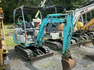 2004 IHI 18J MINI EXCAVATOR DOZER BACKHOE NICE RUBBER TRACKS