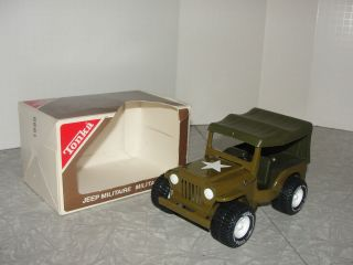 vintage tonka military army jeep in the box  59 95 buy it