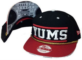 NEW ERA 9Fifty Yums Snapback Hat Jambox Radio Captains Boombox Black