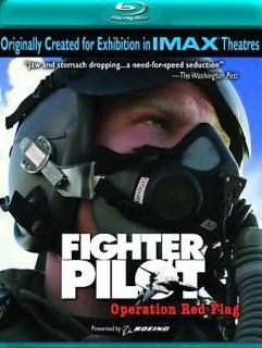 Fighter Pilot Operation Red Flag Blu ray Disc, 2008