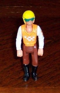 FISHER PRICE ADVENTURE PEOPLE CYCLING FIGURE 1974