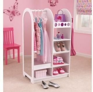 Lets Play Dress Up Unit KidKraft 12511 Wood Kids Pretend
