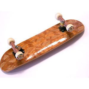 Complete New SnakeSkin Wooden Fingerboard Fast Ship