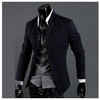 HOT UK Unique New Roma Suit Mens Stylish One Button Slim Fit Jacket