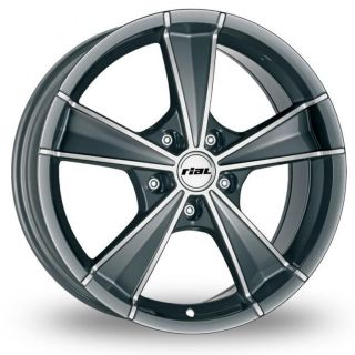 18 Rial Roma Alloy Wheels & Continental Tyres   VW GOLF MK6 (09