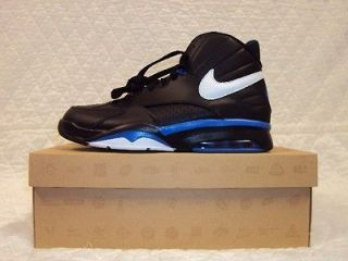 NIKE AIR MAESTRO FLIGHT BLACK/WHITE VA​RSITY ROYAL SIZE 10.5 NEW