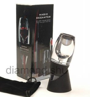 new magic decanter quick red wine aerator d320