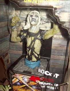 Iron Maiden Eddie Jack In The Box Rare Mint Art Asylum Figure Toy N