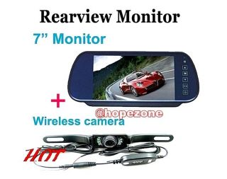 rear view mirror lcd in Rear View Monitors/Cams & Kits
