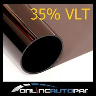 Window Tint Film 35% Black Metalized 50cm x 6m Car Legal Home Office