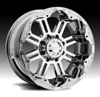 ALLOY FULL THROTTLE WITH 33X12.50X22 TOYO OPEN COUNTRY MT WHEELS RIMS