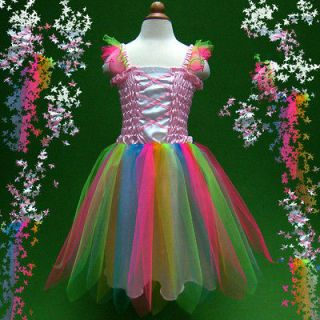 p004 Toddler Baby Dance Xmas Tutus Skirt Party Girls Fancy Dress 2