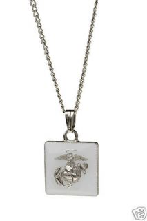 Newly listed USMC Marine Corps, Military, Necklace charm jewelry