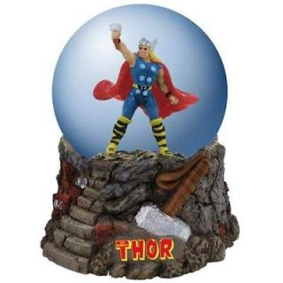 The Mighty Thor Super Hero Snowglobe by Westland 22902 Globe New