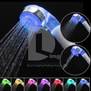 Colors LED Water Shower Head TWO Outlet Mode A20 Sprinkler Showerhead