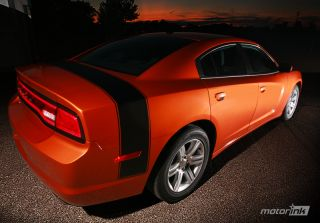 2011 + Dodge CHARGER Super Bee Trunk Stripe Decal Graphics Band 2012