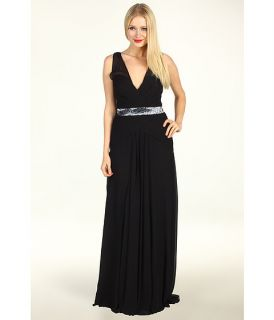 Nicole Miller Evening Gown With Sequin Inset Band $620.99 $1,035.00