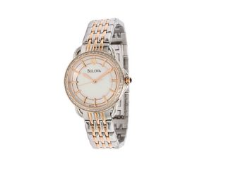 bulova ladies diamond 98r144 $ 374 25 $ 499 00