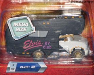 Disney Pixar Cars Mega Size Elvis RV Number 9 Die Cast Toy by Mattel