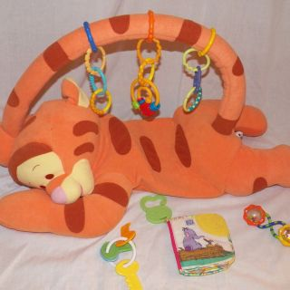 Tigger Activity Gym FP Mat Disney Baby Winnie The Pooh Teether Book