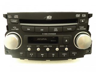 04 05 06 Acura TL Radio Stereo 6 Disc Changer CD Player Tape Cassette