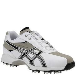 New Mens Asics Gel Tour Lyte White Clay Black Golf Shoes