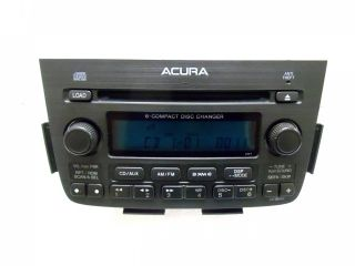 05 06 Acura MDX Navigaiton Radio Stereo 6 Disc Changer CD Player