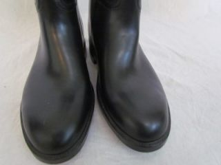 Aigle Coupe Saumur France Equestrian Riding Rain Barn Rubber Boots 38