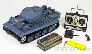 Radio control Battery Operated German Tiger airsoft battle toy tank 20