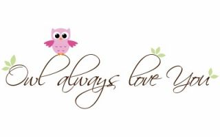 Children Owl Quote Decal Owl Always Love You Kids Vinyl Wall Decal