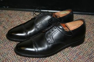 Allen Edmonds Clifton Black Cap Toe Oxford Shoes Mens Size 12 D $295