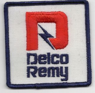 Vintage Delco Remy Truck Starters and Alternators Patch UNUSED