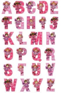 Toy Workshop Fairy Wooden Letters Alphabet Letter New