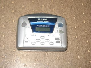 Aiwa Am FM Radio Cassette Player