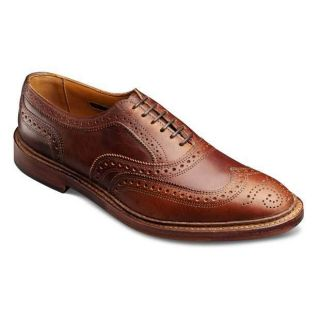 Allen Edmonds McTavish Wingtip Lace Up Oxford Color Cognac Size 10