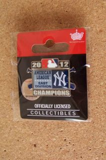 York Yankees Pin Al A L American League East Division Champs