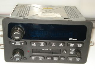 GM Chevy Venture AM FM Cassette Player Car Radio Stereo Delphi Part No