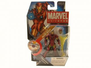 Series 3 WAVE 16 Tony Stark 022 VARIANT Iron Man Name Stand MOMC