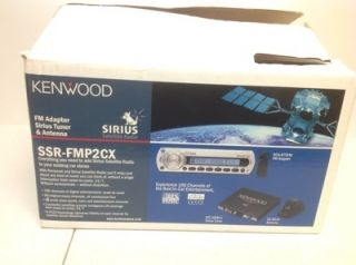 Kenwood FM Adapter Sirius Satellite Radio Tuner Antenna