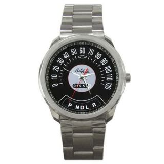 Chevy Bel Air Speedometer Gauge Classic Car Sport Metal Watch