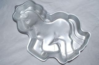 Wilton Cake Pan Vintage My Little Pony Baking Mold Horse Birthday