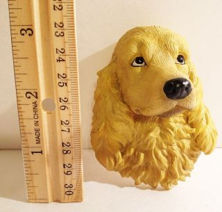 Yellow Blonde Cocker Spaniel Dog Refrigerator Heavy Rubber Fridge