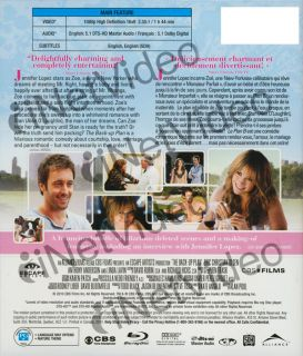 the back up plan blu ray canadian release new bl original title the