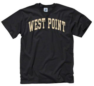 Army Black Knights West Point Black Arch T Shirt